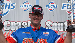 Lucas Oil's Matt Forbes makes drag racing history
