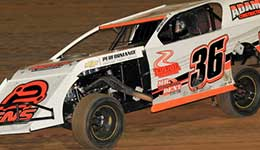 Busy Martin gears up for Modified double duty again at Lucas Oil Speedway
