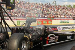 Top Fuel ace Morgan Lucas excited about team's potential