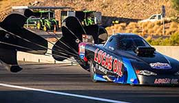 Gary Phillips rewrites the Alcohol Funny Car record books
