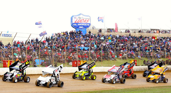 The world's fiercest racers head to Australia's Lucas Oil Classic
