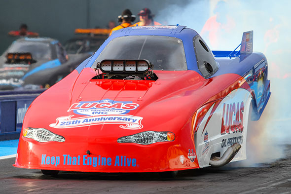 Lucas Oil Products champion drag racers gunning for back-to-back wins