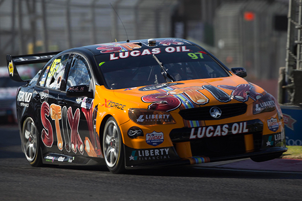 Van Gisbergen challenges for Clipsal 500 victory