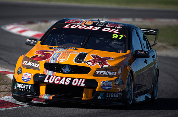Van Gisbergen focussed on returning to the front
