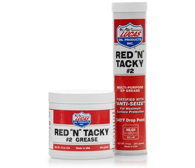 Red 'N' Tacky Grease